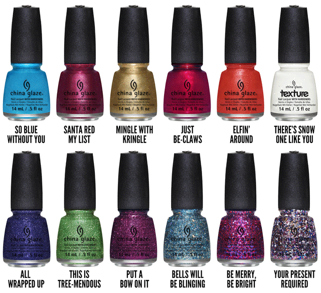 Colección Happy HoliGlaze de China Glaze