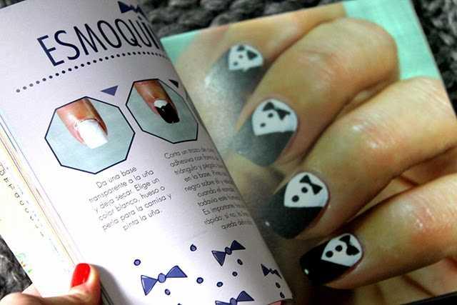 Nail art paso a paso con el primer libro de uñas en español