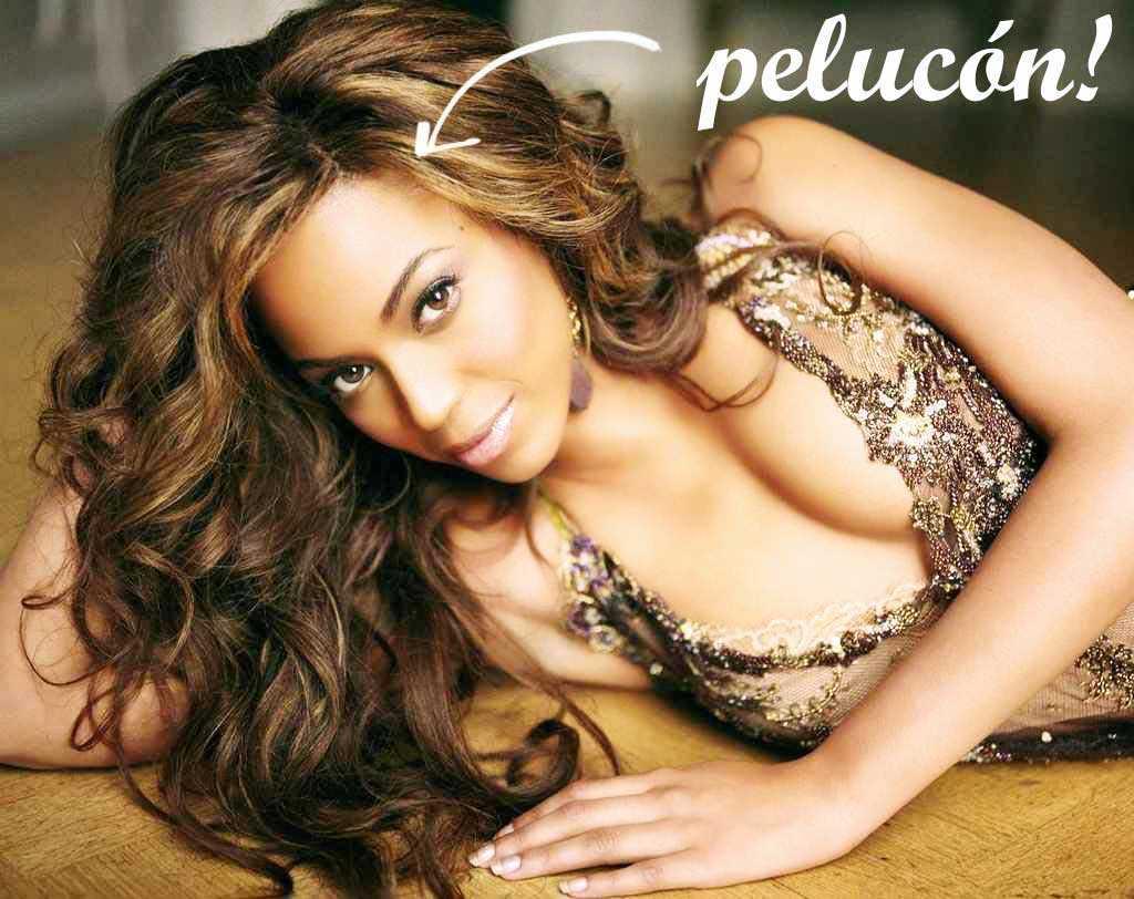 Beyoncé peluca