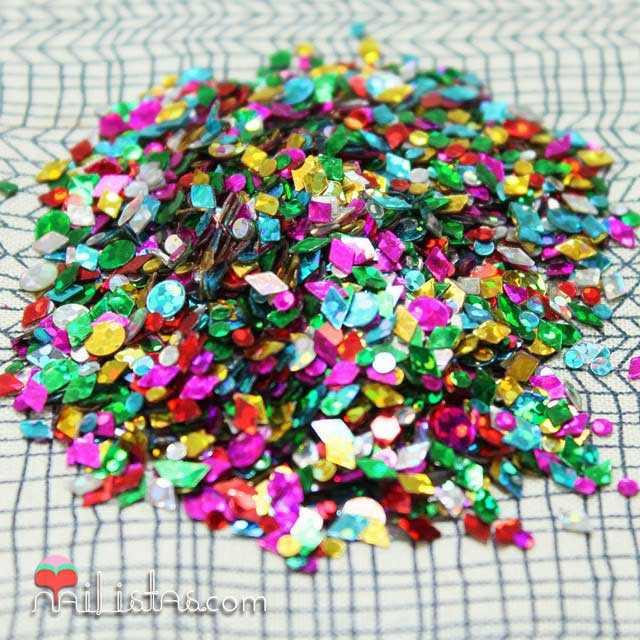 Decoracion para uñas, purpurina, glitter