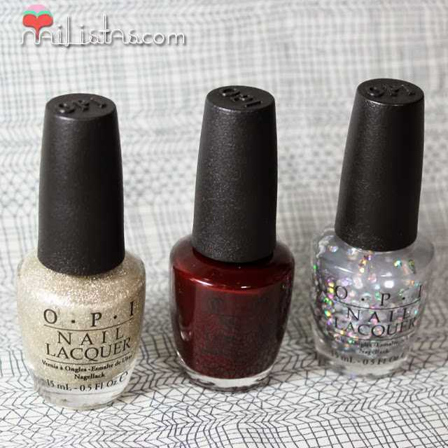 Esmaltes O.P.I. Mariah Carey The Look