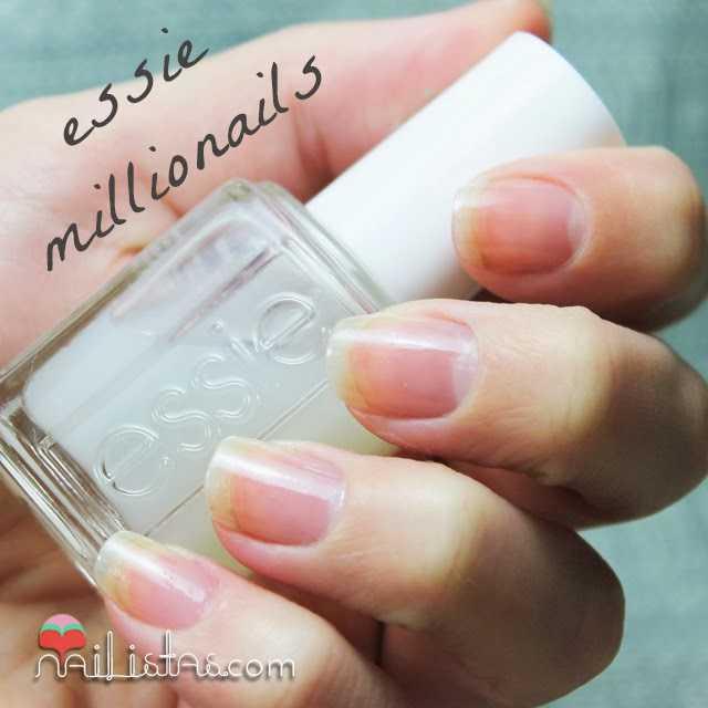 Uñas frágiles y estropeadas tratamiento Essie Millionails