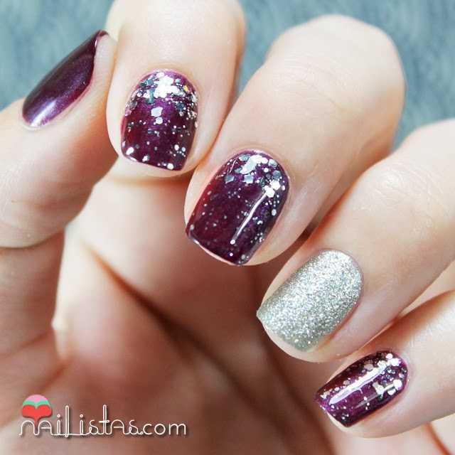 Manicura Navidena Essie Luxeffects Set In Stones Nailistas