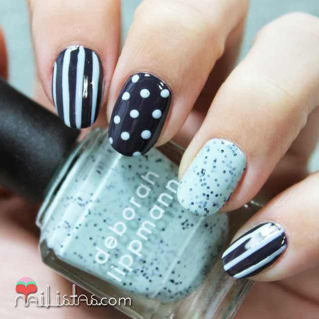Nail art Mix & Match | Decoración de uñas fácil