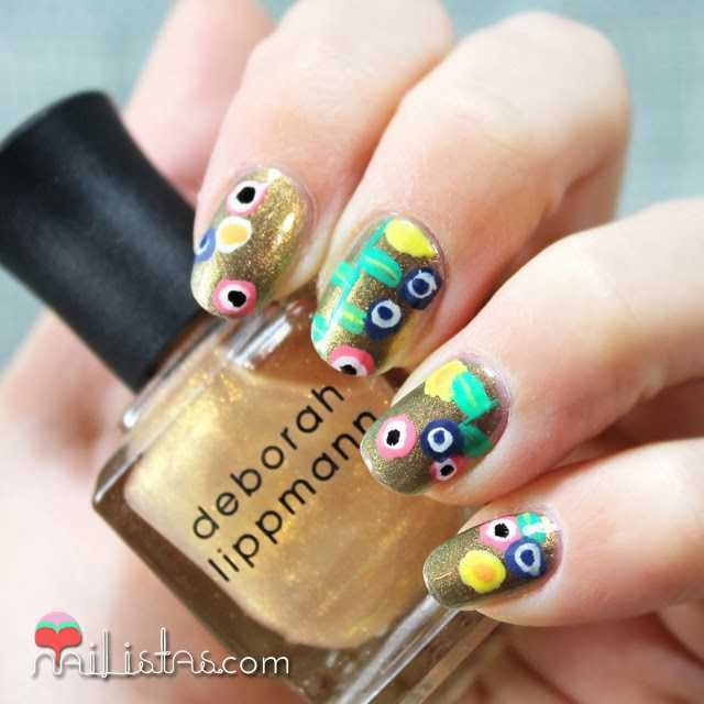 Uñas decoradas art nouveau | Nail Art inspirado en Gustav Klimt