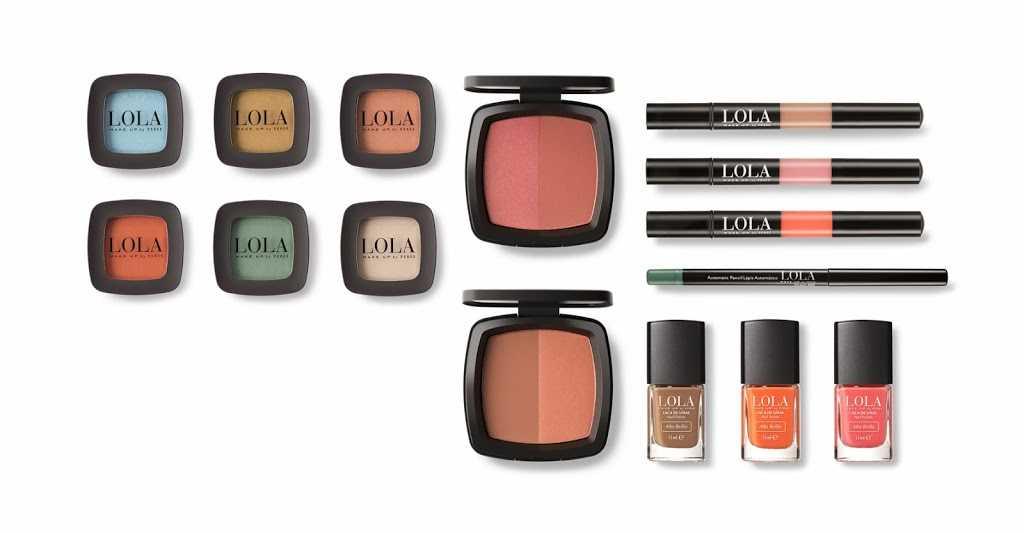 Colección de primavera Lola Make Up by Perse