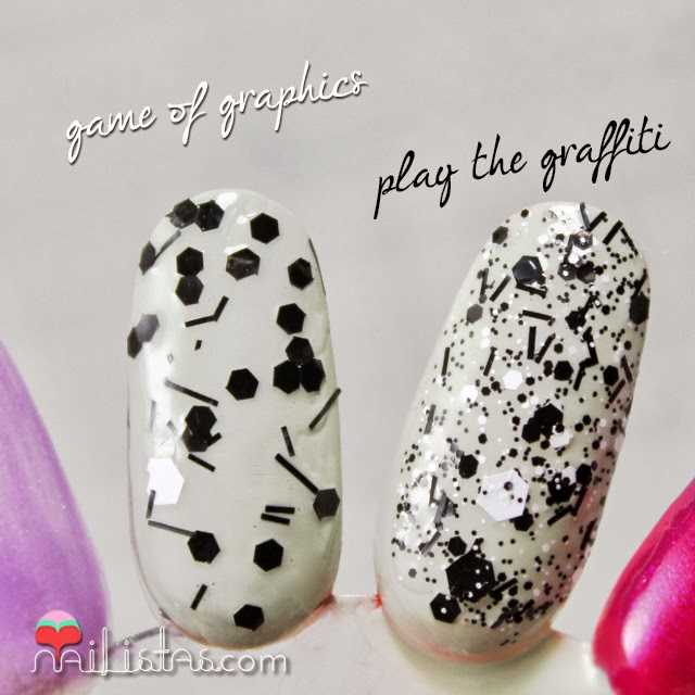 Astor Nail artist Play the graffiti y game of graphics