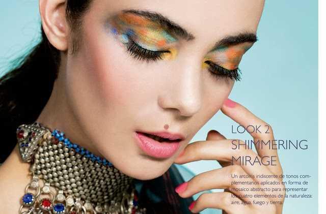 Look maquillaje primavera verano 2014