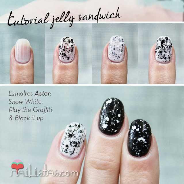 Uñas decoradas, nail art paso a paso sencillo y fácil