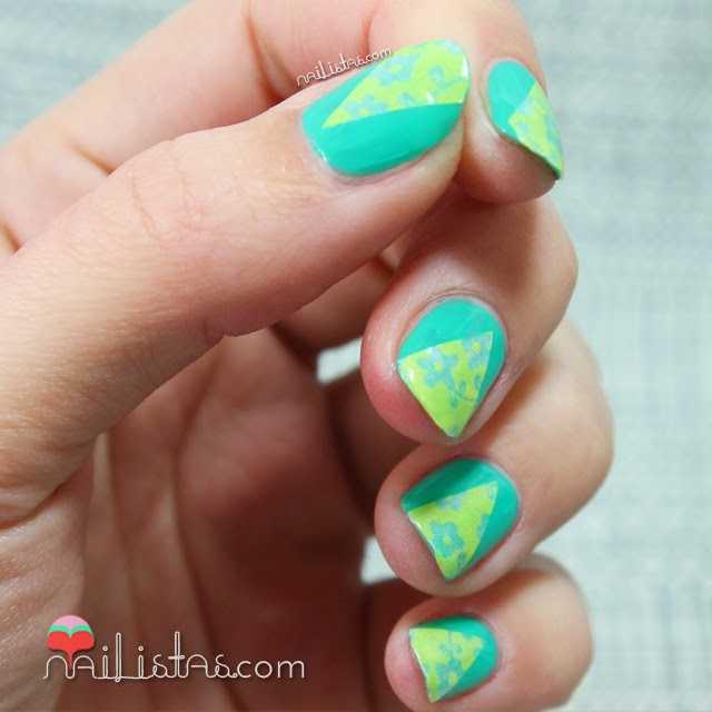 Decoración de uñas fácil con Washi Tape | Nail Art