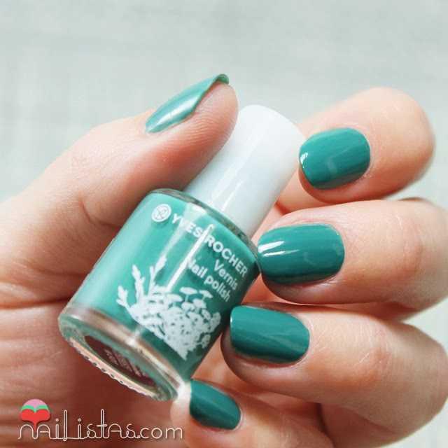 Esmaltes de uñas Ives Rocher Menthe verde