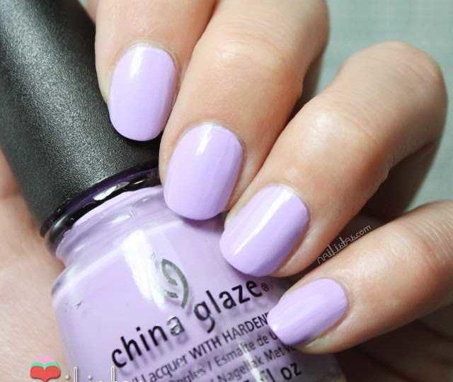Swatch de Lotus Beguin de China Glaze