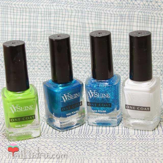 Esmaltes de uñas VV Shine