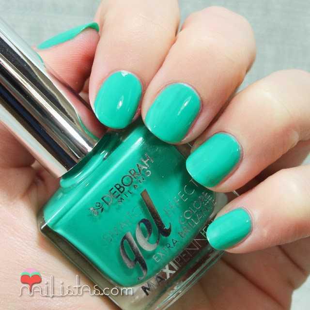 Esmaltes de uñas Deborah Milano | Efecto Gel Ultra brillo