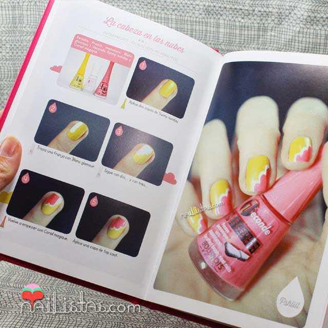 Imágenes de nail art, tutoriale y libro de Bourjois