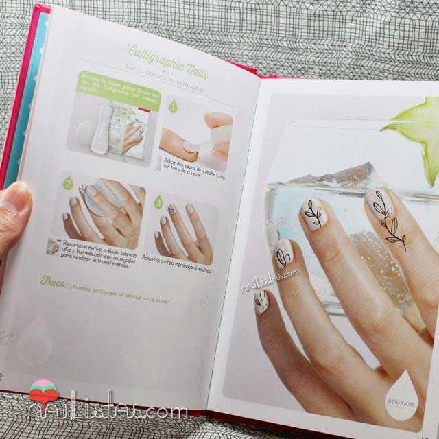 Imágenes de libro de nail art de Bourjois