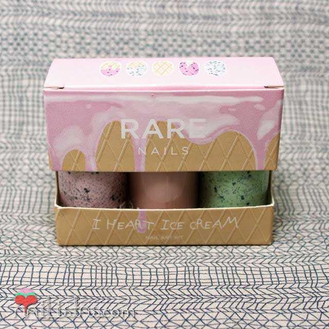 Uñas decoradas con helados   RARE NAILS I heart Ice Cream