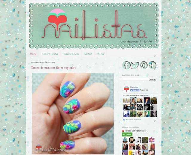 Antigua web de nailistas