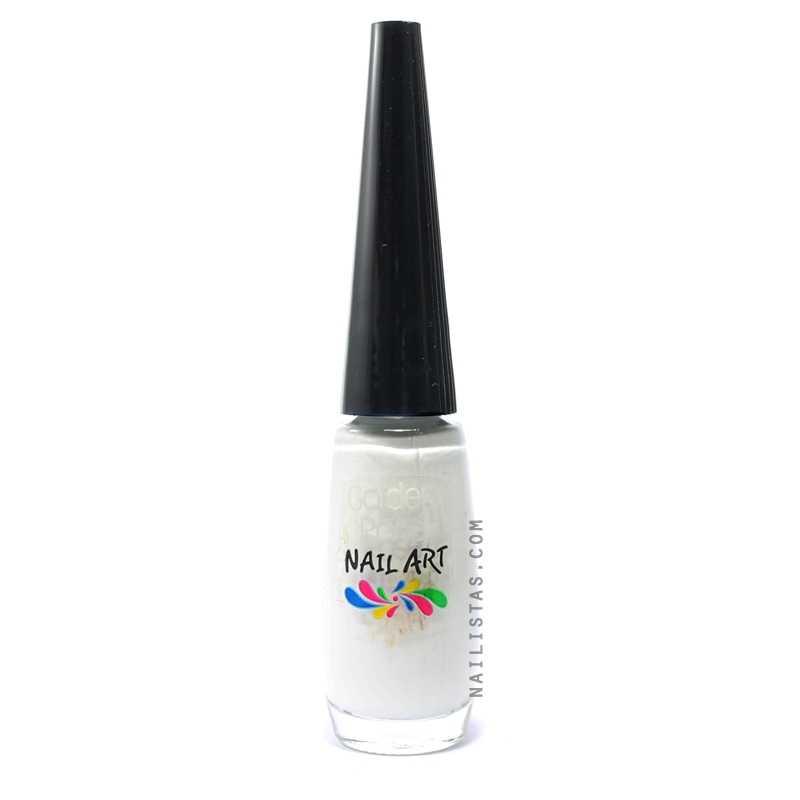 Pincel Nail Art - Blanco-411