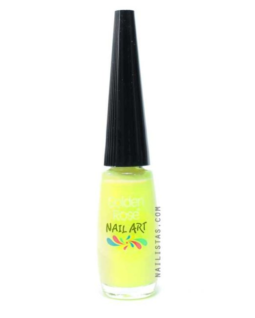 Pincel Nail Art - Amarillo-761