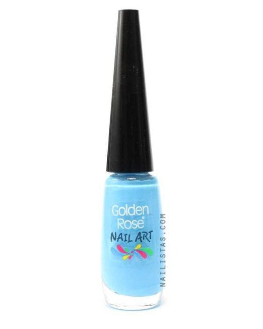 Pincel Nail Art - Azul-763