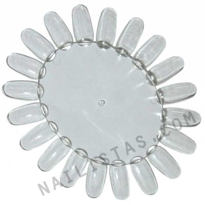 5 Ruedas de nail art transparentes-766