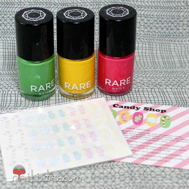Kits de nail art de Rare Nails
