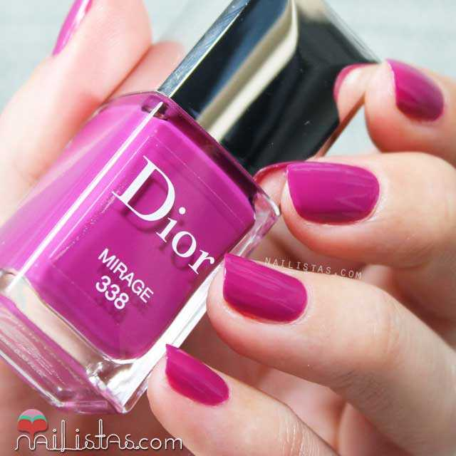Esmalte de uñas Dior Mirage Swatch