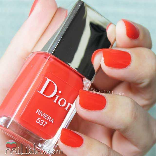 Esmalte de uñas Dior Riviera Swatch