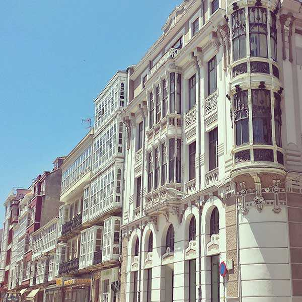 Rua Igrexa Ferrol - Casas modernistas