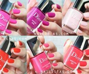 Esmaltes de uñas Dior Nueva Fórmula