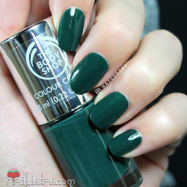 esmaltes-de-uñas-the-body-shop-green