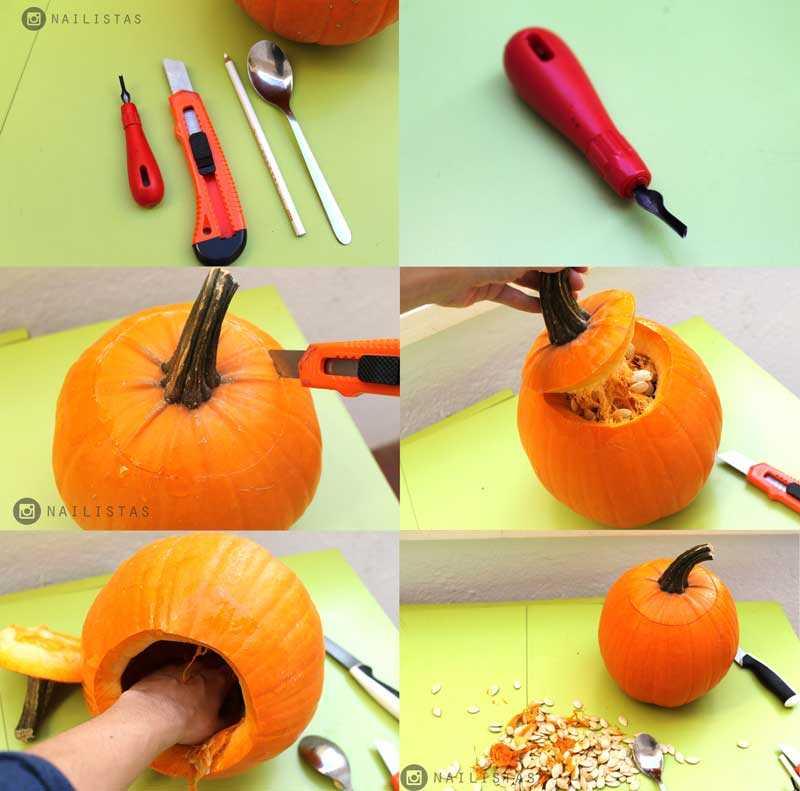Cómo decorar una calabaza paso a paso