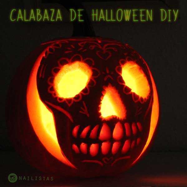 Cmo hacer una Calabaza de Halloween original paso a paso