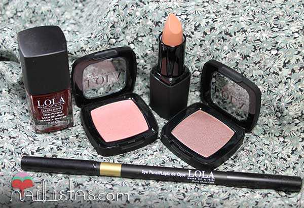 Coleccion It Girl Lola Make Up Swatches y review