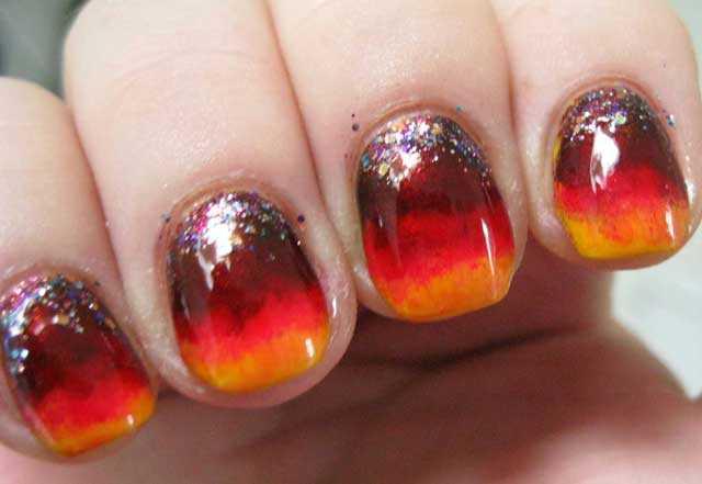 manicura mal hecha nail art