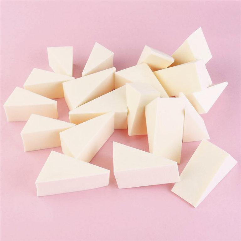 esponja para hacer degradados nail art