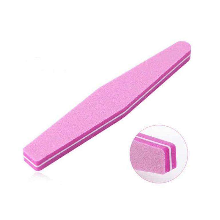lima buffer esponja rosa