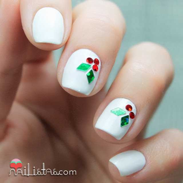 5 manicuras navideas Nailistas Uas decoradas paso a paso
