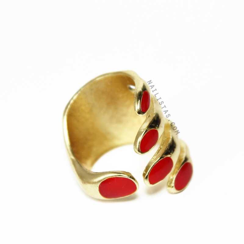 anillo de uñas pintadas-786