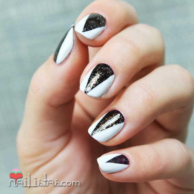 Ideas para decorar uñas Nochevieja