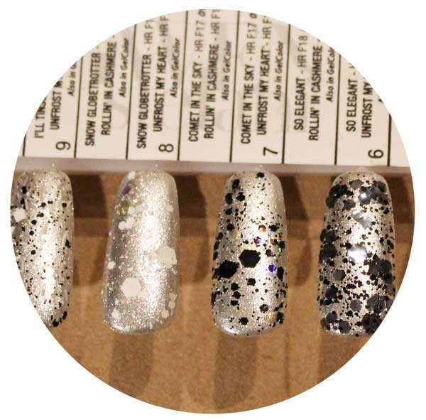 Gwen Stefani OPI Holiday toppers Swatches