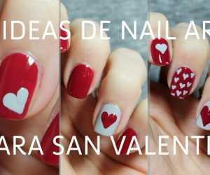 3 ideas para decorar tus uñas en San Valentín en menos de 5 minutos