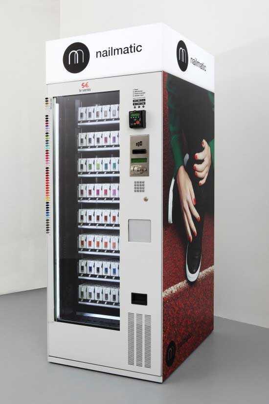 Nailmatic esmaltes de uñas en maquinas expendedoras