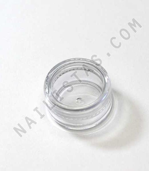frasco redondo de metacrilato con tapa de rosca-792