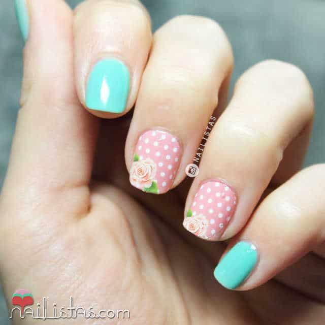 Cómo aplicar calcomanías en las uñas, water decals