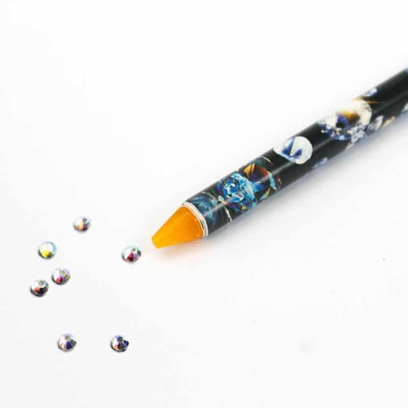 lápiz cera para manipular decoraciones de uñas