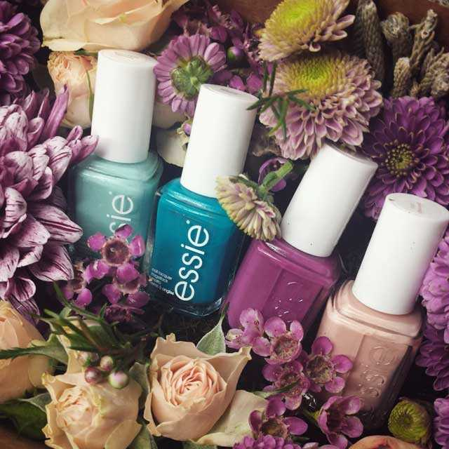 Essie colección primavera 2015 flowerbombing