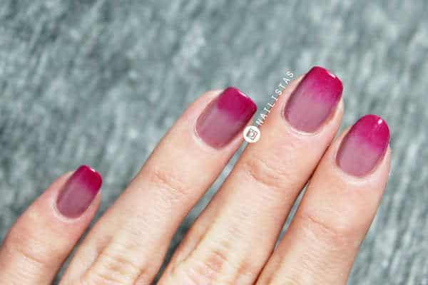 Cómo hacer un degradado en las uñas paso a paso
