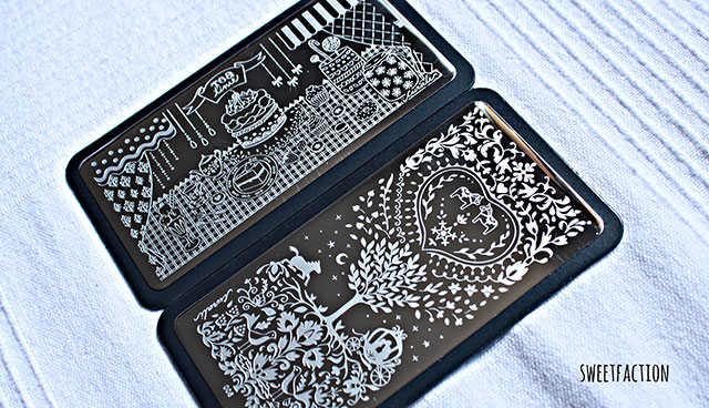 Curali Cute Stamping Plates
